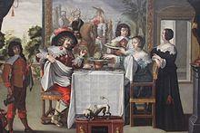 Le Goût - anonyme XVIIe s - Musée des beaux-arts de Tours.jpg