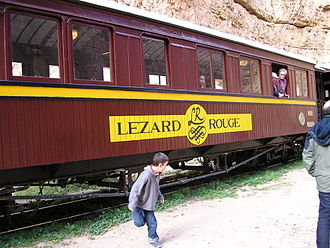 Lézard rouge - One of the carriages of the Lézard Rouge