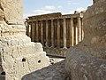 Lebanon, Baalbek, Temple of Bacchus in Baalbek.jpg