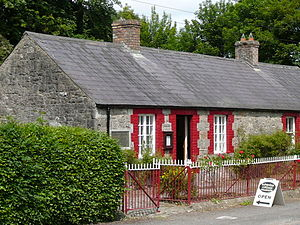 Francis Ledwidge - Ledwidge Cottage Museum, Slane, County Meath where Francis lived and grew up as a young poet.