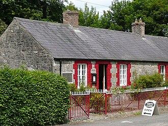 Francis Ledwidge - Ledwidge Cottage Museum, Slane, County Meath where Francis lived and grew up as a young poet.