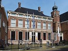 850152ffb Escher's birth house, now part of the Princessehof Ceramics Museum, in  Leeuwarden, Friesland, the Netherlands