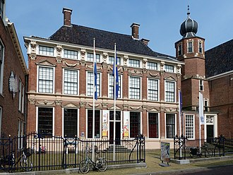 M. C. Escher - Escher's birth house, now part of the Princessehof Ceramics Museum, in Leeuwarden, Netherlands