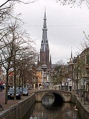 Leeuwarden - Voorstreek met Bonifatiustoren