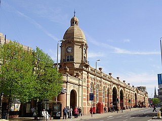 Leicester railway station serves the City of Leicester in Leicestershire, England