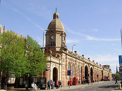 How to get to Leicester Station with public transport- About the place