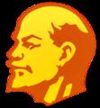 Lenin head transparent.png