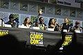 Lennie James, Alycia Debnam-Carey, Colman Domingo, Danay Garcia, Jenna Elfman & Garret Dillahunt (42740224345).jpg