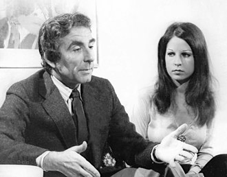 Leon Cooper - Cooper with wife in 1972