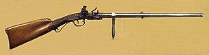 Muzzle-loading rifle - Image: Lepage silex gun dite du Premier Consul circa 1800