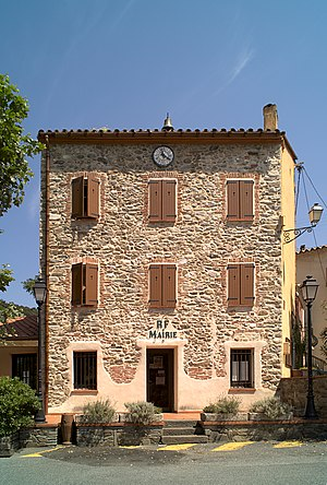Les Cluses - The town hall in Les Cluses