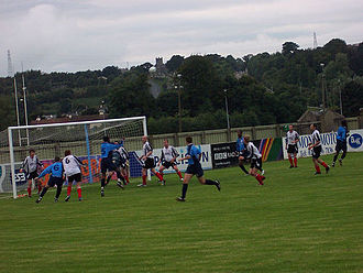 Letterkenny Rovers F.C. - Letterkenny Rovers in action