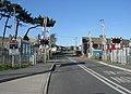 Level Crossing, Rhoose Station, Vale of Glamorgan. - geograph.org.uk - 376403.jpg