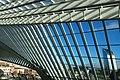 Liège Guillemins Futuristisch ogend treinstation 5.jpg