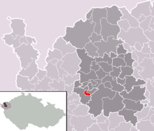 Libavské Údolí na mapě