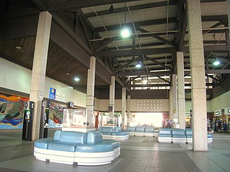 Lihue Airport - Inside the airport terminal
