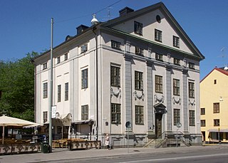 Lillienhoff Palace building in Stockholm Municipality, Stockholm County, Sweden