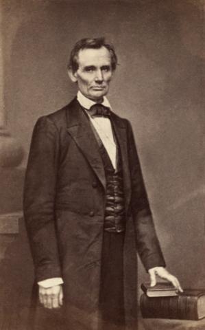 Кандидат в президенты Авраам Линкольн, 1860год.