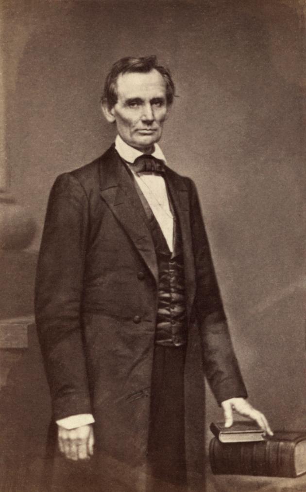 Lincoln O-17 by Brady, 1860
