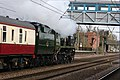 Line clear ahead, 'Braunton' powers through Welwyn Garden City. - panoramio.jpg