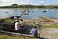 Linnhe Marine pontoon, Dallens Bay, Appin. - geograph.org.uk - 241846.jpg