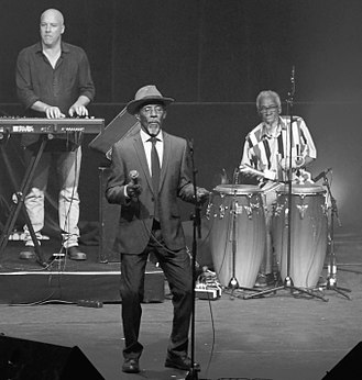 Linton Kwesi Johnson - Linton Kwesi Johnson in concert in Brussels, 2017