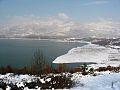 Liqeni i Fierzes ne dimer 2014.jpg