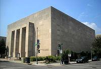 Lisner Auditorium - northwest corner.JPG