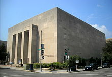 Lisner Auditorium - northwest corner.JPG