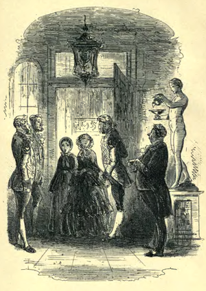 Fanny and Little Dorrit call on Mrs Merdle