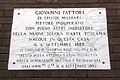 Livorno Giovanni Fattori birthplace plaque 01.JPG