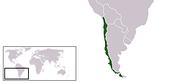 Localización de Chile