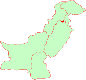 location of Islamabad