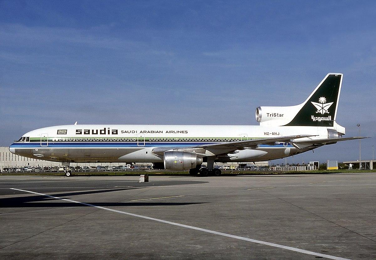 Px Lockheed L Tristar C Saudia Saudi Arabian Airlines An