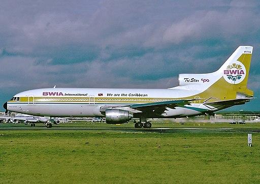 Lockheed L-1011-385-3 TriStar 500, BWIA International AN0846879