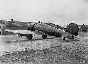 Lockheed Model 9 Orion - The Shellightning in October 1932
