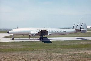 Air Force One - The VC-121 Columbine III used by President Eisenhower