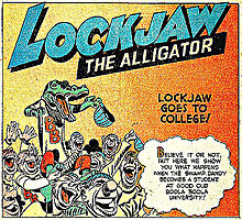 couverture de Lockjaw the alligator