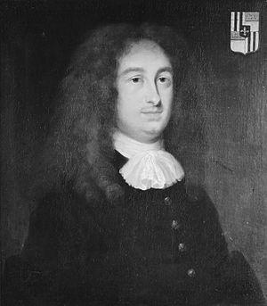 Lodewijck Huygens - Lodewijck Huygens (anonymous portrait), 1674