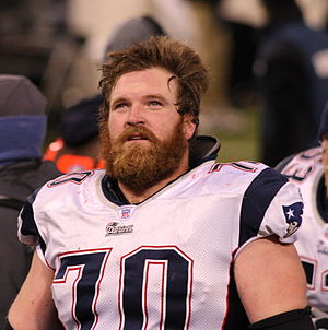 Logan Mankins - Mankins with the Patriots in 2007