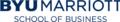 Logo of the Marriott School of Business.png