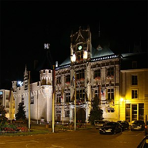 Saumur - The Saumur City Hall