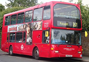 London United route 267 to Fulwell (cropped).jpg
