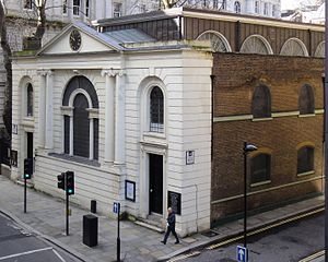 Little Britain, London - St Botolph's Aldersgate on Little Britain