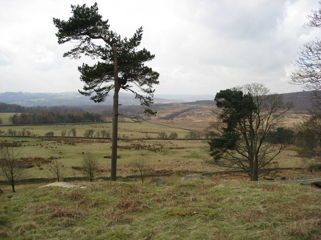 Longshaw Estate View from A6187 - geograph.org.uk - 752272