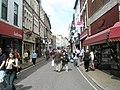 Looking along the High Street, Barnstaple - geograph.org.uk - 938993.jpg