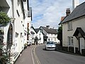 Looking towards the Royal Oak in Porlock High Street - geograph.org.uk - 933685.jpg
