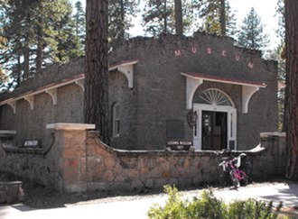 National Register of Historic Places listings in Lassen Volcanic National Park - Image: Loomis Museum NPS1