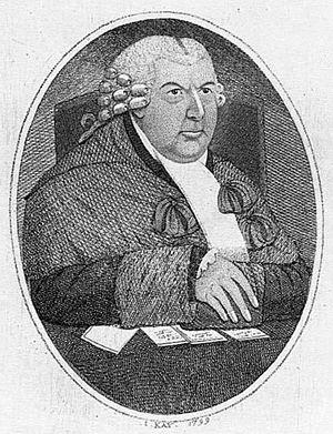Claud Irvine Boswell, Lord Balmuto - Lord Balmuto by John Kay, 1799.