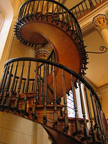 The Loretto Chapel Spiral Staircase